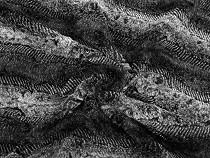 Kunstfell Wellen meliert