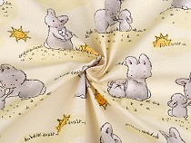 Cotton Fabric, Bunny