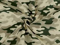 Cotton Fabric, Camouflage