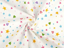Cotton Fabric, Stars
