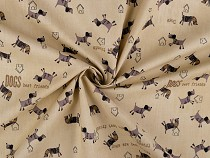 Cotton Fabric Dog