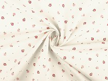 Cotton Fabric, Small Flowers