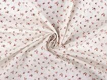 Cotton Fabric, Mini Roses