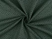 Bavlnená látka vzorovaná