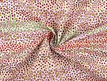 Tkanina bawełniana abstrakcyjne kropki