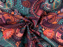 Ornements en tissu décoratif Loneta, Cachemire