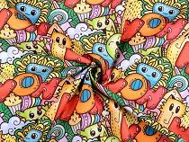 Decorative Fabric Loneta Doodle