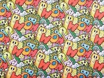 Tkanina dekoracyjna Loneta Doodle
