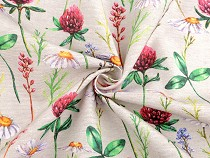 Decorative Fabric Loneta, Wildflowers