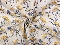 Decorative Fabric Loneta, Plants