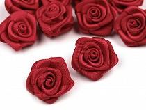 Decorative Satin Rose Ø15 mm