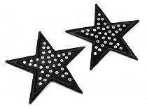 Nažehlovačka hvězda s kamínky
