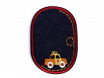 Denim Iron on Patch