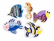 Felvasalható hímzett halak