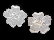 Aufbügler gestickte Blume