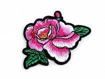 Aplicație termoadezivă - trandafir