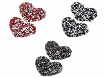 Patch thermocollant Coeur avec strass