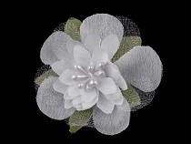 Textilblume mit Staubblättern Ø55 mm