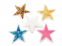 Nažehlovačka hviezda s flitrami