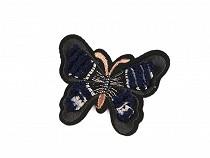 Aufbügler, Schmetterling 3D