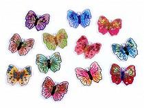 Aufbügler Schmetterling mit Pailletten
