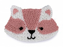Textile Applique / Sew-on Patch Raccoon