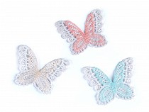 Textile Applique / Sew-on Patch Butterfly