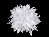 Kwiatek tekstylny Ø90 mm