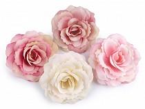 Umělý květ růže Ø80 mm