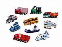 Patch thermocollant, Moyens de transport