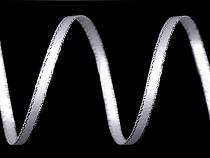 Wstążka satynowa dwustronna z lureksem szerokość 3 mm