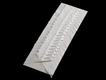 Ślubna kokardka / kotylion  szerokość 40 mm