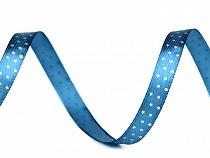 Saténová stuha hvězdy šíře 10 mm