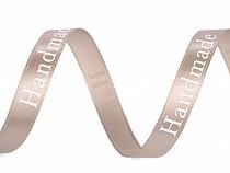 Satinband Breite 9 mm Handmade