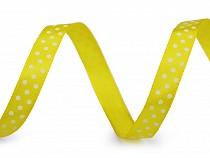 Satin Ribbon with Polka Dots width 10 mm