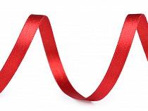 Wstążka satynowa dwustronna z lureksem szerokość 10 mm