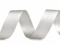 Band mit Lurex Breite 25 mm