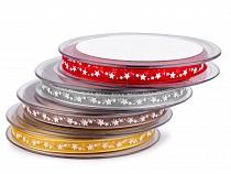 Monofilband Sterne Breite 6 mm
