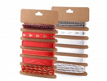 Christmas Ribbon Set for Gift Wrapping