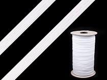 Guma pleciona płaska - bieliźniana szerokość 6-7 mm