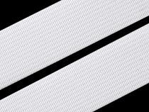 Woven Elastic Tape,  width 20mm  white