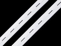 Elastic cu butoniere, lățime 15-17 mm