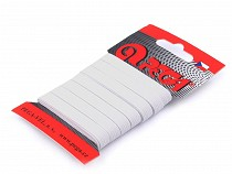 Bielizňová guma na karte šírka 8mm