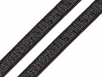 Brokát gumi / vállpántgumi szélessége 10 mm lurexszel