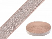 Elastic Tape with Lurex width 27 mm