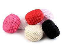 Crochet Elastic Stretch Band width 7 cm Tutu