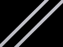Plochá gumička šírka 5; 6 mm