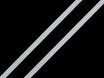 Gummiband flach Breite 4 mm lose im Karton