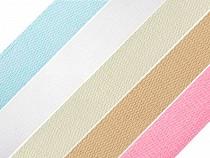 Baumwollband Breite 25 mm