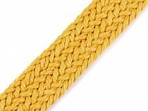 Splietaný bavlnený popruh šírka 25 mm